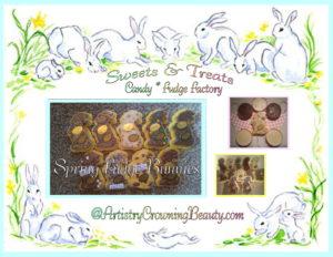 Sweets & Treats Fudge Bunnies