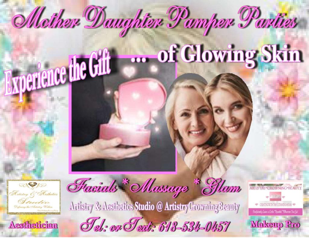 Mother Daughter Pamper Parties